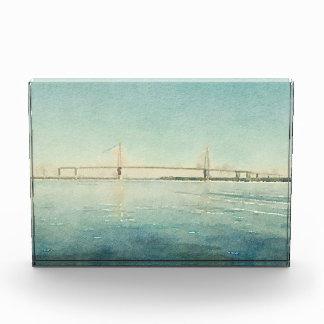 Watercolor River Bridge Charleston South Carolina Acrylic Award