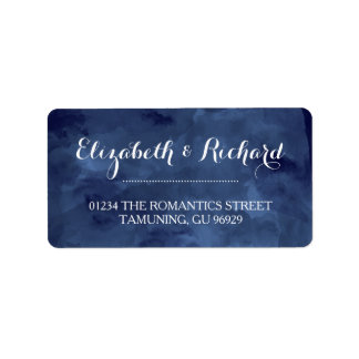 Watercolor Romance Address Labels