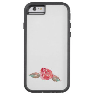 Watercolor Rose Tough Xtreme iPhone 6 Case