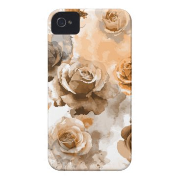 Watercolor Roses 2 Case-Mate iPhone 4 Case