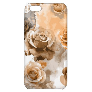 Watercolor Roses 2 Case For iPhone 5C