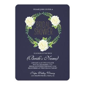 Watercolor Roses Bridal Shower Invitation