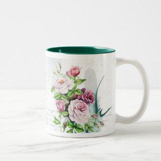Watercolor Roses mug