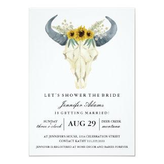 Watercolor Rustic Rodeo | Bridal Shower Card
