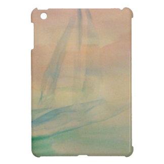 Watercolor Sailing Sailboat Nautical Gifts iPad Mini Cover