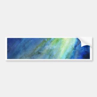 Watercolor Sea Bumper Sticker