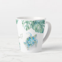 Watercolor Sea Turtle Mug