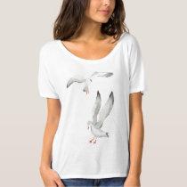 Watercolor seagulls T-Shirt