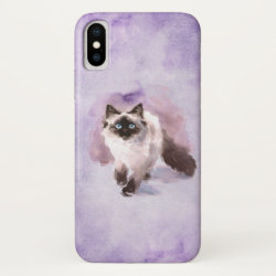 Case-Mate Barely There iPhone X Case with Labradoodle Phone Cases design