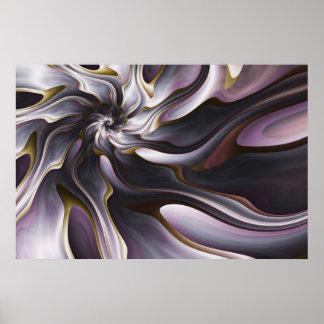 Watercolor Silk Poster