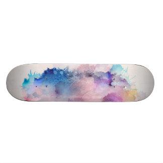 Watercolor Skateboard Deck