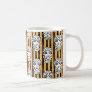 Watercolor Skulls Coffee Mug