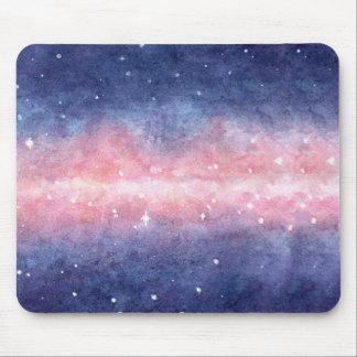 Watercolor Space Mousepad
