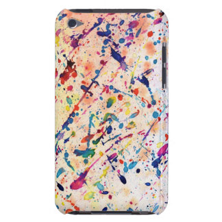 Watercolor Spatter iPod Touch Case