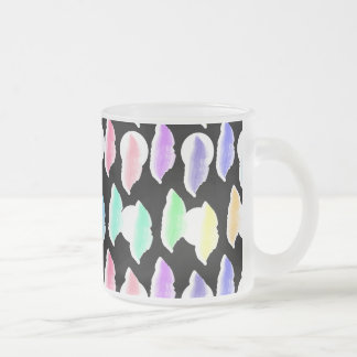 Watercolor Splash! Frosted Glass Coffee Mug