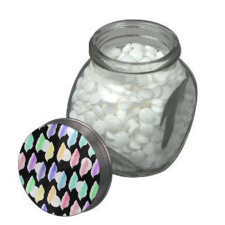 Watercolor Splash! Glass Jars