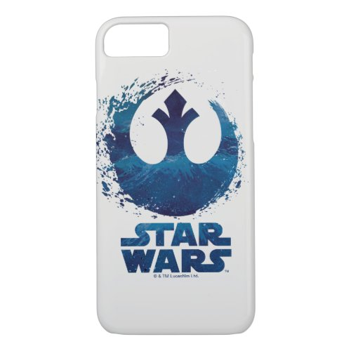 Watercolor Splash Rebel Logo Phone Case