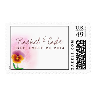 Watercolor Spring Flower Postage