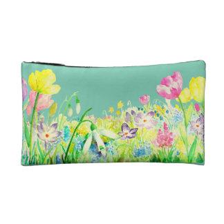 Watercolor Spring Flowers Bag