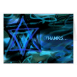 WATERCOLOR STAR Bar Bat Thank You Card Note Card