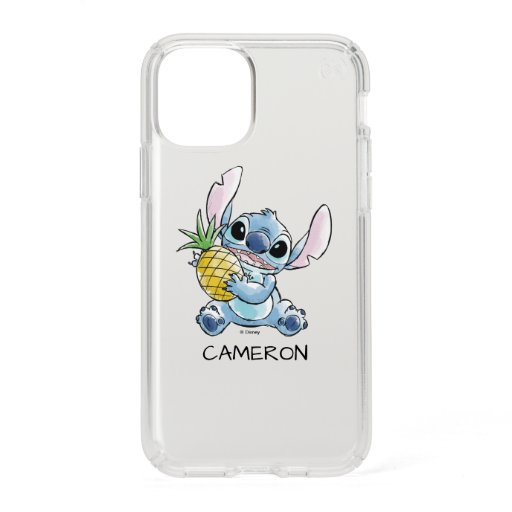 Watercolor Stitch Holding Pineapple Speck iPhone 11 Pro Case
