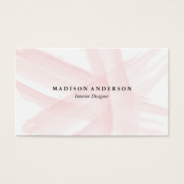 Professional Business Watercolor Strokes   Business Cards