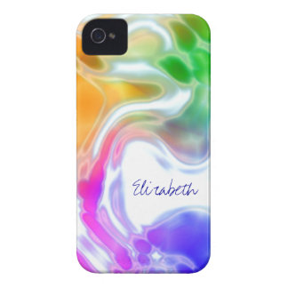Watercolor Swirls 2 iPhone 4 Cover