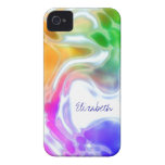 Watercolor Swirls 2 iPhone 4 Covers