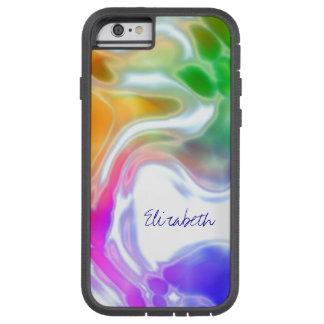 Watercolor Swirls 2 Tough Xtreme iPhone 6 Case