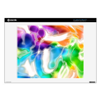 Watercolor Swirls 3 Decals For Laptops