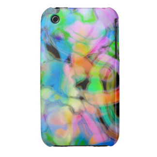 Watercolor Swirls 4 iPhone 3 Covers