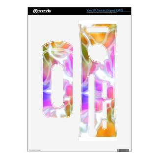 Watercolor Swirls Decals For The Xbox 360