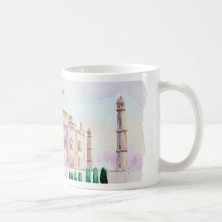 Watercolor Taj Mahal Coffee Mug