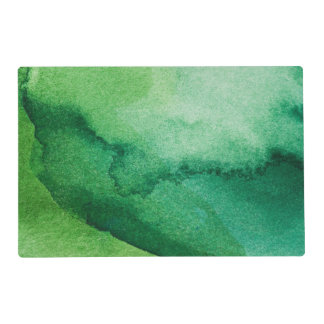 Watercolor texture placemat