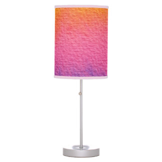 Watercolor Textures Table Lamp