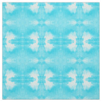 watercolor tie-dye teal pattern fabric
