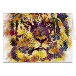 Watercolor Tiger Cards