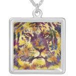 Watercolor Tiger Pendant