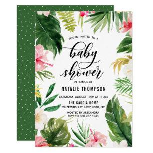 tropical invitations zazzle