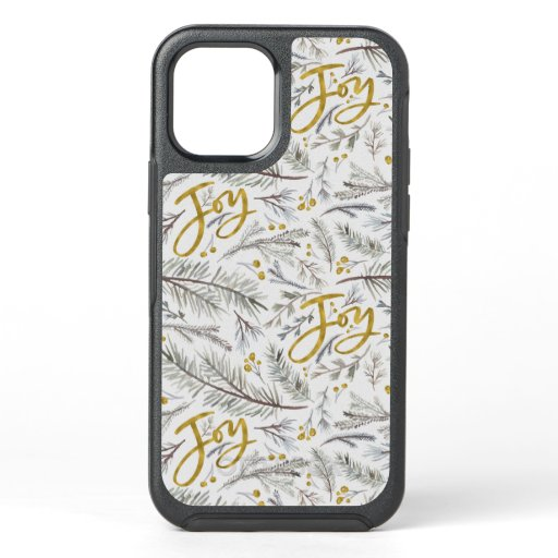 Watercolor Twigs OtterBox Symmetry iPhone 12 Case