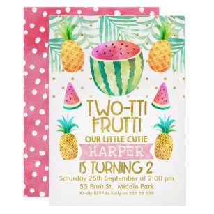 2nd birthday invitations zazzle