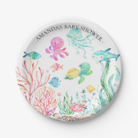 Watercolor Under the Sea  Baby Shower 7