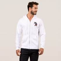 watercolor unicorn hoodie