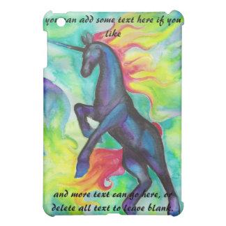 Watercolor Unicorn iPad Case
