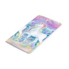 Watercolor Unicorns Journal