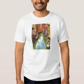 Watercolor Venice Painting Shirt