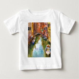 Watercolor Venice Painting T-shirt