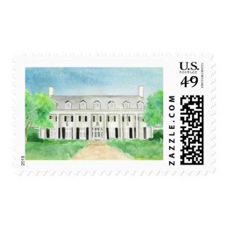 Watercolor Venue Wedding Stamp