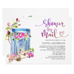 Watercolor Virtual Bridal Shower by Mail Invitation