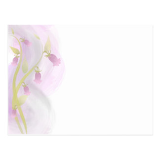 Watercolor Wash Pale Pink Postcard